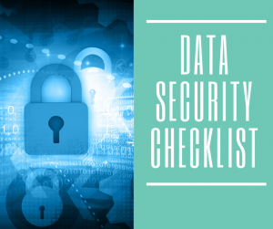 data security checklist