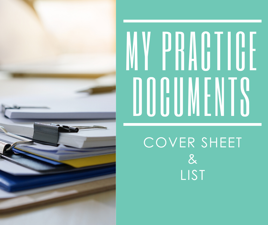 my practice documents