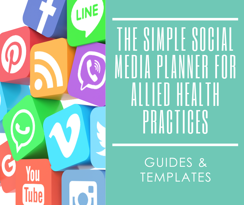 One of our allied health resources and templates